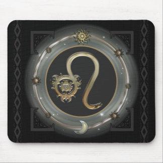 Leo Zodiac Sign Mouse Mat