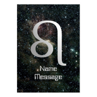 Leo Zodiac Star Sign Universe Business Cards