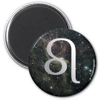Leo Zodiac Star Sign Universe Magnet