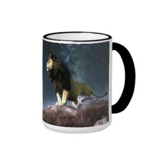 Leo Zodiac Symbol Coffee Mug
