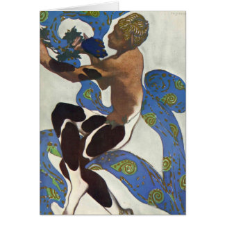 Leon Bakst: Nijinsky's Faun Costume Cards