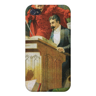 Leon Herrmann The Great ~ Vintage Magic Act iPhone 4/4S Cover