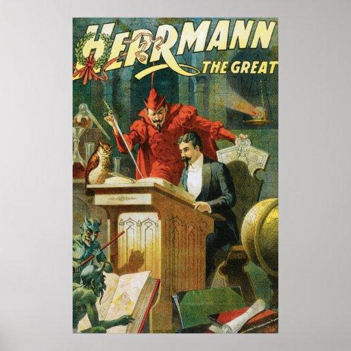 Leon Herrmann The Great ~ Vintage Magic Act