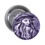 Leonardo 6 Cm Round Badge