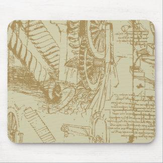 Leonardo Da Vinci Artwork Mouse Pad