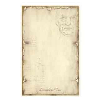Leonardo da Vinci - Classic Stationery