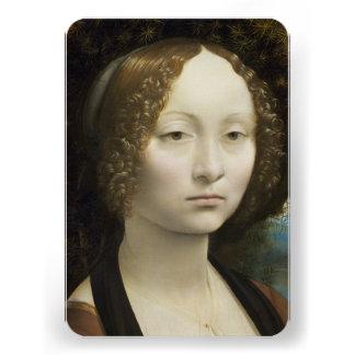 Leonardo Da Vinci Ginevra De Benci Invitation
