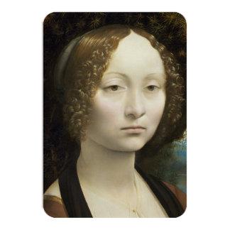 Leonardo Da Vinci Ginevra De' Benci Invitation