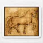 Leonardo Da Vinci Horse Art Mousepad