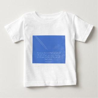 Leonardo Da Vinci inspirational flight quote Baby T-Shirt