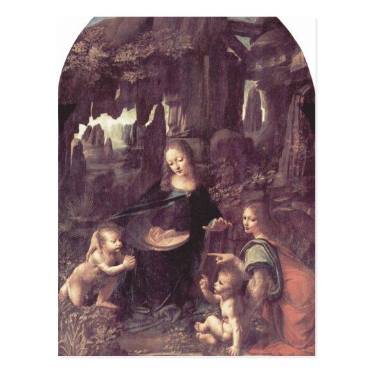 Leonardo da Vinci Madonna in der Felsengrotte, Sze