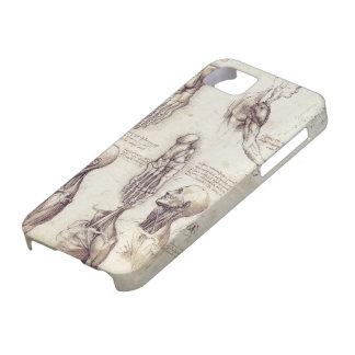 Leonardo Da Vinci Medical sketches, body parts Barely There iPhone 5 Case