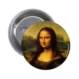 Leonardo Da Vinci  Mona Lisa 6 Cm Round Badge