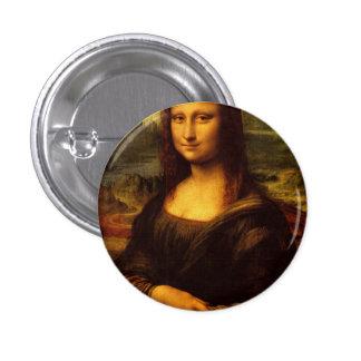 Leonardo Da Vinci Mona Lisa Fine Art Painting 3 Cm Round Badge