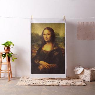 Leonardo Da Vinci Mona Lisa Fine Art Painting Fabric