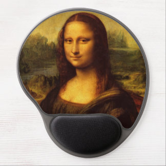 Leonardo Da Vinci Mona Lisa Fine Art Painting Gel Mouse Pad