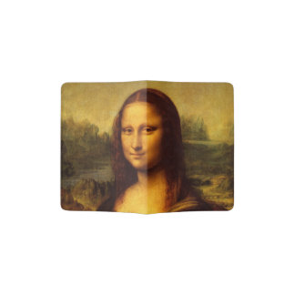 Leonardo Da Vinci Mona Lisa Fine Art Painting Passport Holder