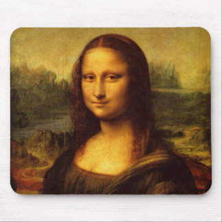 Leonardo da Vinci Mona Lisa Mouse Pad