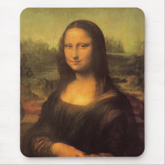 Leonardo Da Vinci' Mona Lisa Mouse Pad
