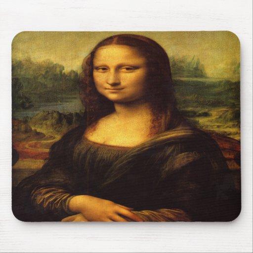 Leonardo Da Vinci - Mona Lisa Mousepads