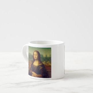 Leonardo da Vinci, Mona Lisa Painting Espresso Mug
