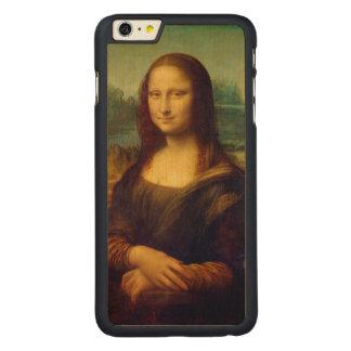 Leonardo da Vinci, Mona Lisa Painting Carved® Maple iPhone 6 Plus Case