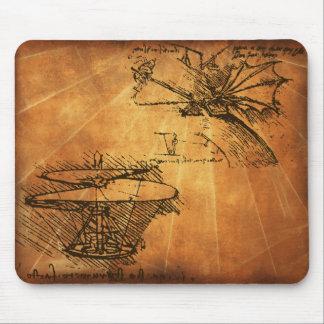 Leonardo Da Vinci Mouse Mat