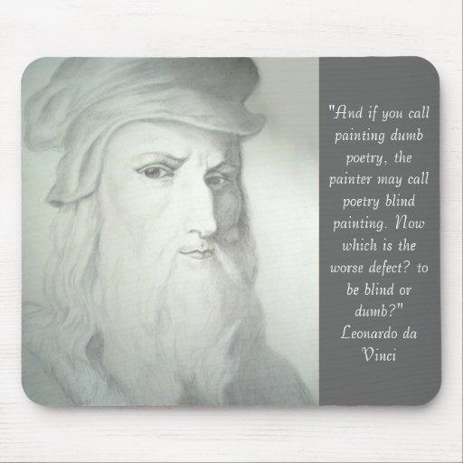 Leonardo da Vinci Mouse Pad