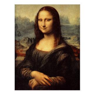 Leonardo da Vinci s Mona Lisa Postcard