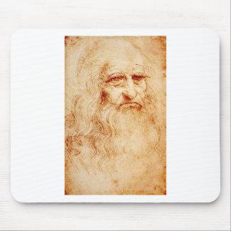 Leonardo Da Vinci Self-Portrait circa 1510-1515 Mouse Pad