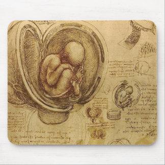 Leonardo Da Vinci -  Study of Anatomy Mouse Pad