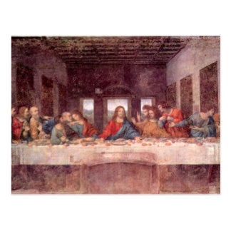 Leonardo da Vinci - The Last Supper Postcard