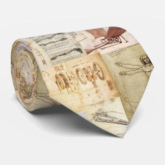 Leonardo Da Vinci Tie