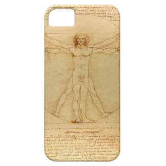 Leonardo Da Vinci Vitruvian Man Barely There iPhone 5 Case