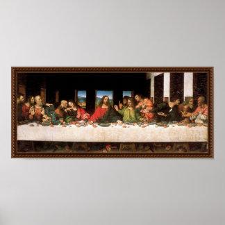 Leonardo da Vinci's Last Supper Poster