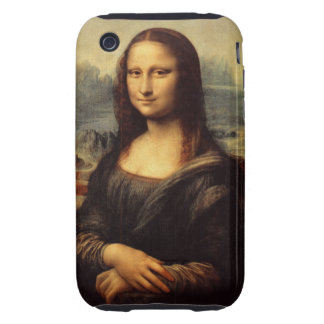 Leonardo da Vinci's Mona Lisa iPhone 3 Tough Covers