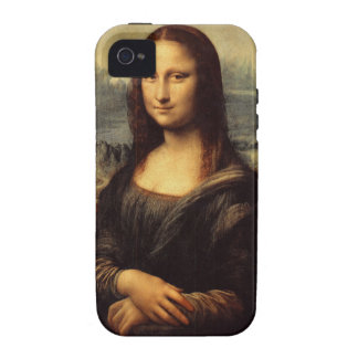 Leonardo da Vinci's Mona Lisa Vibe iPhone 4 Cases