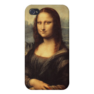Leonardo da Vinci's Mona Lisa iPhone 4 Cases
