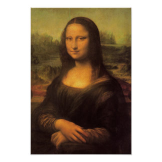 Leonardo Da Vinci's Mona Lisa Poster