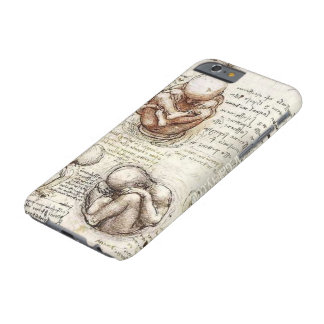 Leonardo DaVinci Fetus Drawings Barely There iPhone 6 Case