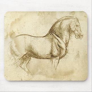 Leonardo DaVinci Horse Mouse Pad