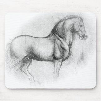 Leonardo DaVinci Horse mousepad