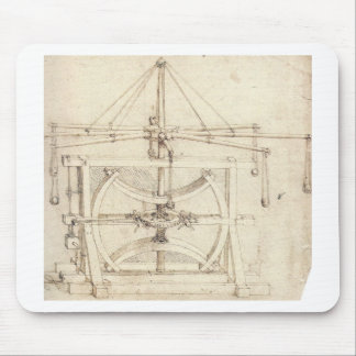 Leonardo Invention Mousepad