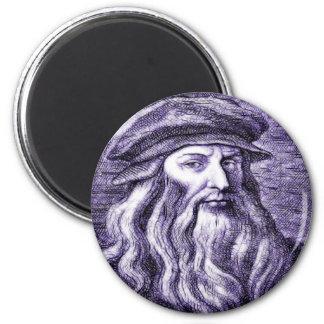 Leonardo Fridge Magnet