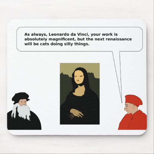 Leonardo Mouse Pads