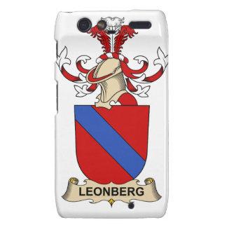 Leonberg Family Crest Droid RAZR Covers