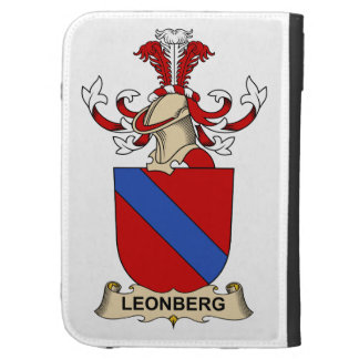 Leonberg Family Crest Kindle Keyboard Covers