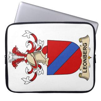 Leonberg Family Crest Computer Sleeve