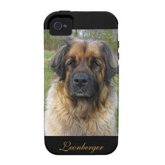 Leonberger dog beautiful photo portrait, gift vibe iPhone 4 cover