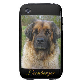Leonberger dog beautiful photo portrait, gift tough iPhone 3 cover